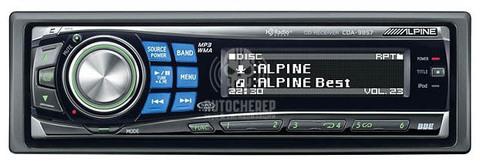 Автомагнитола Alpine CDA-9857R