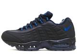 Кроссовки Мужские Nike Air Max 95 Leather Dk Blue (C Мехом)