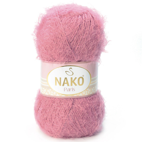 Пряжа Nako Paris 730 брусника