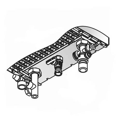 Комплект подключения отопительного контура без насоса для Viessmann Vitodens 200-W