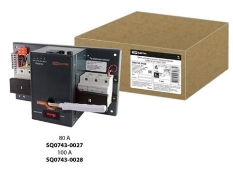 Блок автоматического ввода резерва БАВР-М 3П 100А TDM