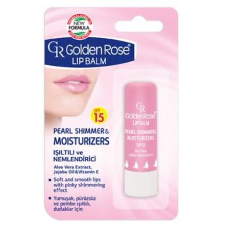 GR Бальзам для губ Lipbalm PEARL SHIMMER & MOISTURISERS SPF15