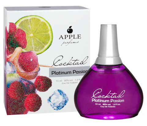 COCKTAIL Platinum Passion, Apple parfums