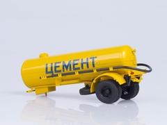 Semitrailer cement carrier TC-4 1:43 AutoHistory