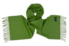 Шерстяной шарф, мужской зеленый 16903