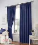 Тоскана (синий). Плотные шторы рогожка.