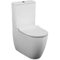 Унитаз напольный с бачком безободковый с сиденьем микролифт Vitra Sento 9830B003-7203 фото