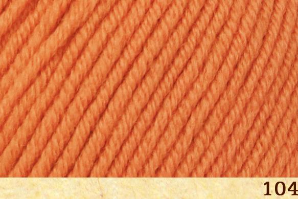Пряжа Fibra Natura Dona 04 оранжевый