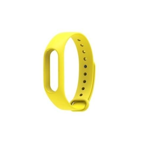 Силиконовый ремешок для Xiaomi Mi Band 2 (желтый)