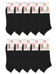 E14 носки женские черные 37-41 (12шт)