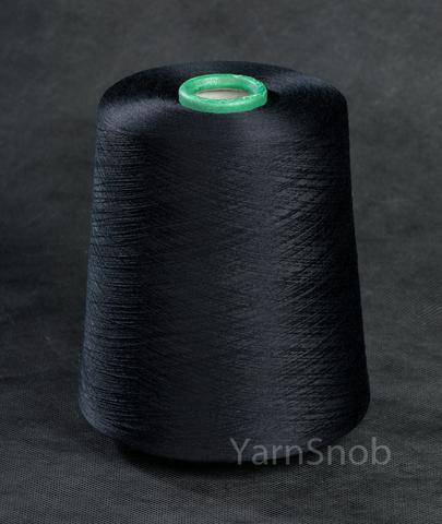14281-Wudi, шелк с кашемиром, черный