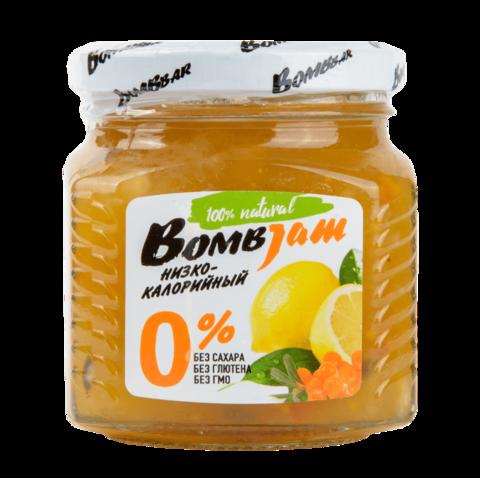 Низкокалорийный джем Bombbar Облепиха-лимон, 250 гр
