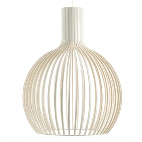 Geliefde replica of Octo 4240 lamp, white by Secto– buy in online shop @QR05