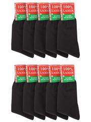 HX10 носки мужские (10шт), черные