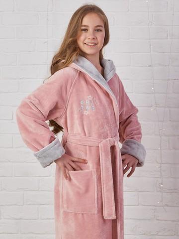 SPORT GIRL (Пудра) детский халат для девочки  Five Wien Турция