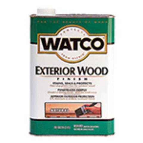 Watco Exterior Wood Finish масло защитное для деревянных фасадов и террас