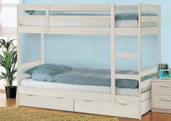 Кровать двухъярусная с ящиками