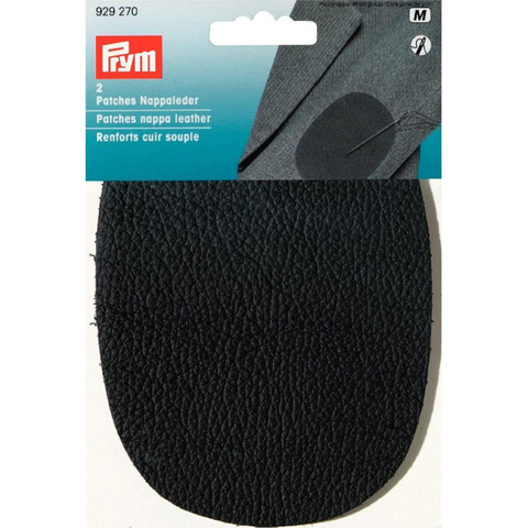 Заплатка кожаная черная PRYM 929270