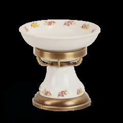 Мыльница настольная Migliore Provance ML.PRO-60.511 керамика с декором