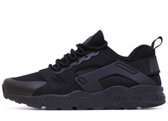 Кроссовки Женские Nike Air Huarache Run Ultra Hyper Triple Black