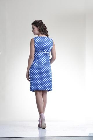 Платье 06198 горох