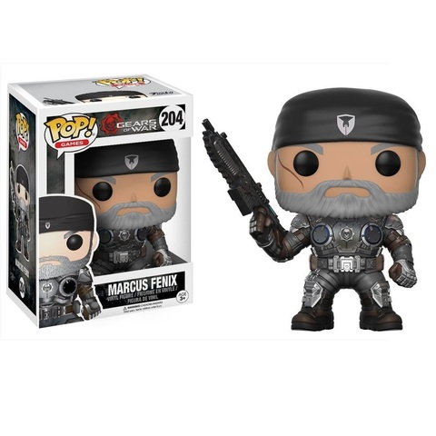 Фигурка Funko POP! Vinyl: Games: GOW: Marcus Fenix (Old Man) 12188