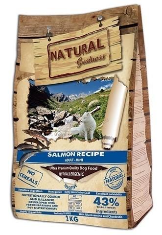 Natural Greatness Salmon Recipe Sensitive Adult Mini сухой корм для собак 2 кг