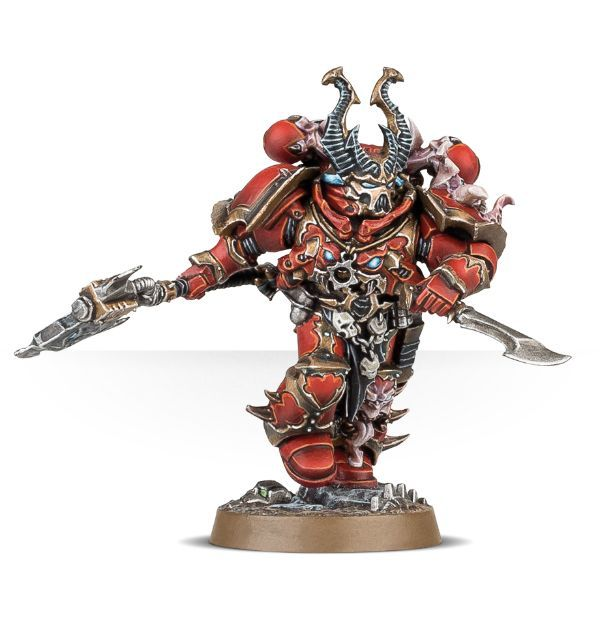 Chaos Space Marines Cultist Assault. Предводитель