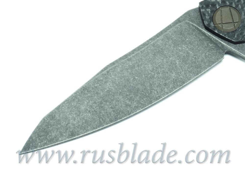 CKF Asymmetric midi CUSTOM (Alexey Konygin design, S90V, titanium, CF)