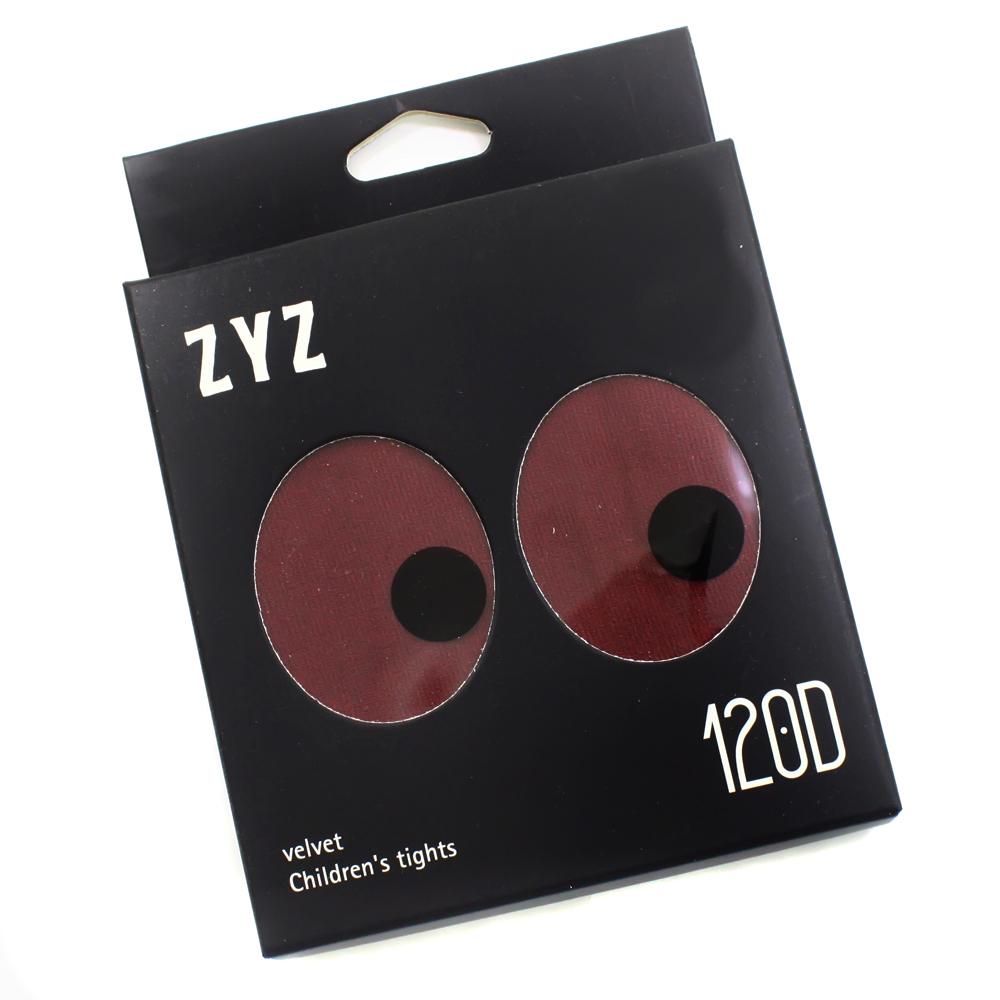 Колготки Micro VELVET 120D Бордовые Рост 115 см - 128 см (6-8 лет)