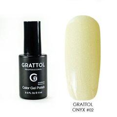 Grattol, Гель-лак Luxury Stones № 02, Onyx, 9 мл