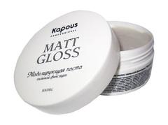 KAPOUS моделирующая паста для волос сильной фиксации 100мл.
