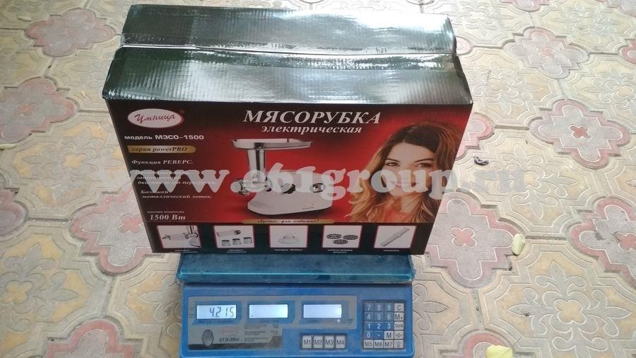 8 Мясорубка электрическая Комфорт Умница MЭСО-1500 с насадками дешево
