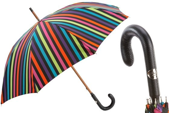 Зонт-трость Pasotti- Multicolor Stripes Umbrella, Италия