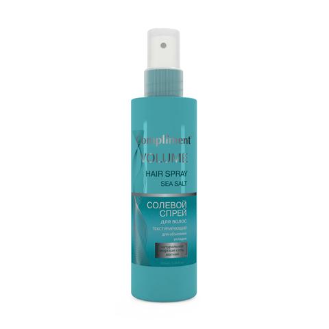 Compliment Солевой спрей для волос текстурирующий для объемных укладок