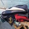 Полотенце пляжное 100х180 Casual Avenue Florida красный/темно-синий