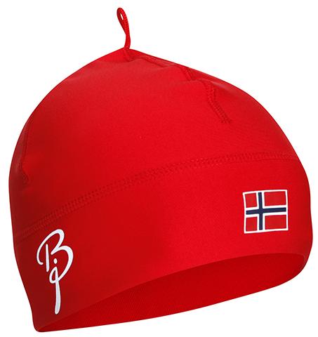 Лыжная шапка Bjorn Daehlie Polyknit Flag Hat красная