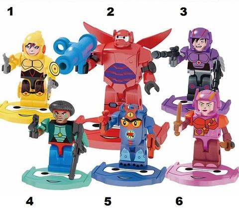 Minifigures Big Hero 6 Blocks Building