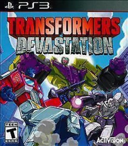 PS3 Transformers: Devastation (русская документация)