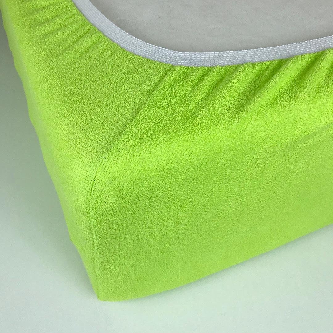 STANDART - Полутораспальная махровая простыня на резинке 120х220