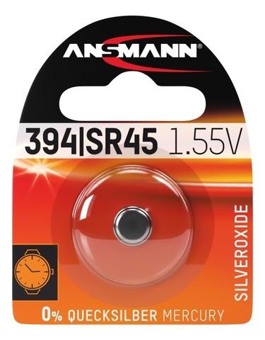 Батарейка для часов 394/SR45 ANSMANN 1.55 V