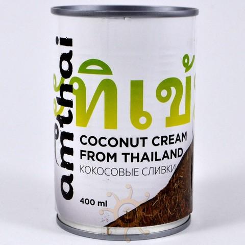 Сливки кокосовые AMTHAI в ж/б, 400 мл