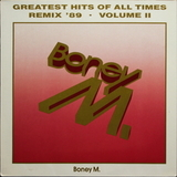 Boney M. / Greatest Hits Of All Times - Remix '89 Volume II (LP)
