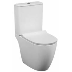 Унитаз напольный с бачком безободковый с сиденьем микролифт Vitra Sento 9830B003-7204 фото