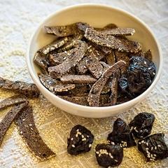 Сухари ржаные с кунжутом и черносливом, 200 г