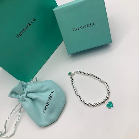 Браслет Tiffany Blue Heart Beard
