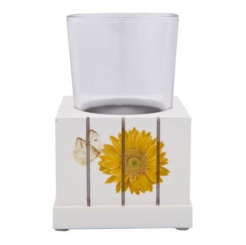 Стакан для зубной пасты Blonder Home Sweet Sunflowers