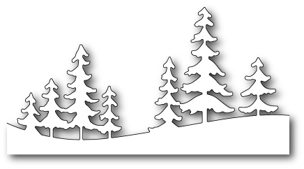 Ножи для вырубки Fresh Pine Landscape craft die