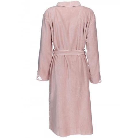 HAZEL розовый махровый женский халат Soft Cotton (Турция)