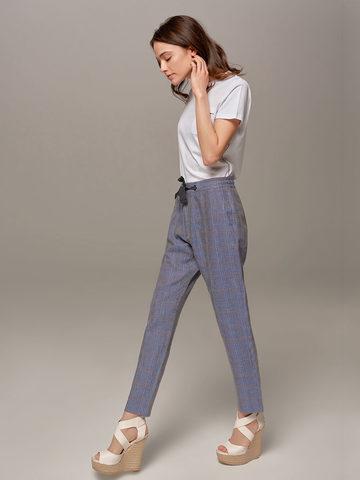 Женские синие брюки Eleventy - фото 4